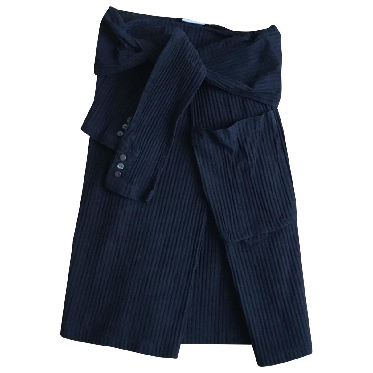 Dries Van Noten - Jupe   pour femme en coton - noir