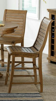 Willow P808-63 Counter Chairs (Set of 2) in Distressed
