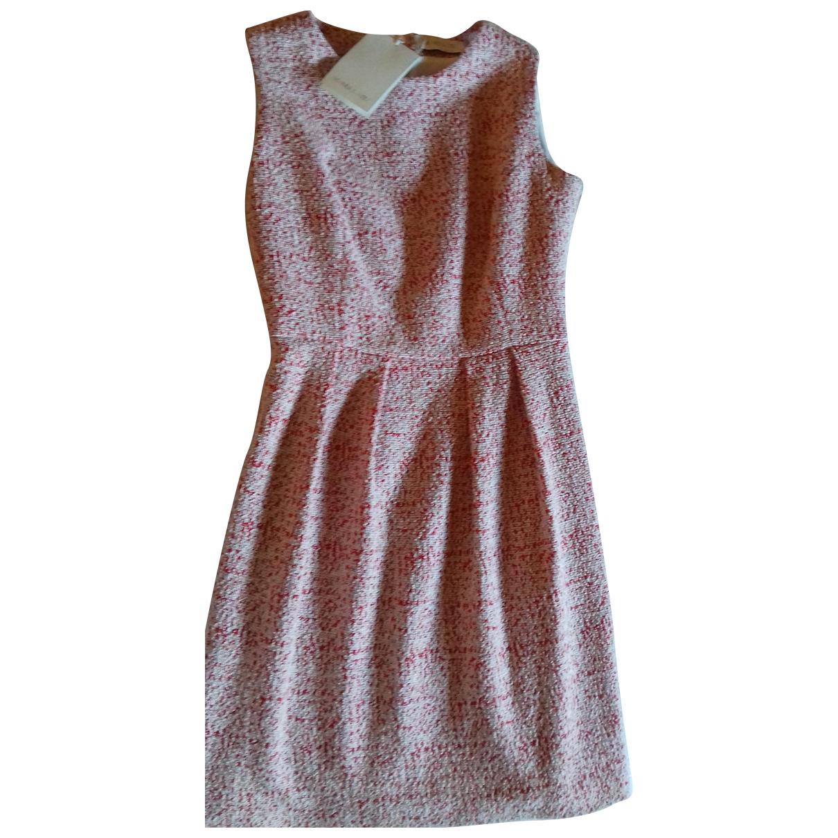 Manuel Ritz \N Kleid in  Rot Baumwolle