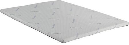 Ilene Collection DM-651Q Queen Size 2 Memory Foam Topper Mattress in