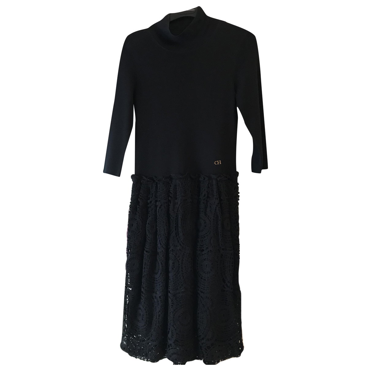 Carolina Herrera N Black Lace dress for Women S International
