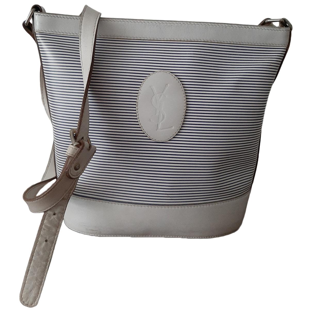 Yves Saint Laurent \N White Cloth handbag for Women \N