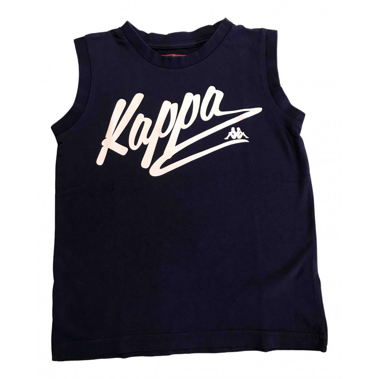 Kappa - Top   pour enfant en coton - bleu
