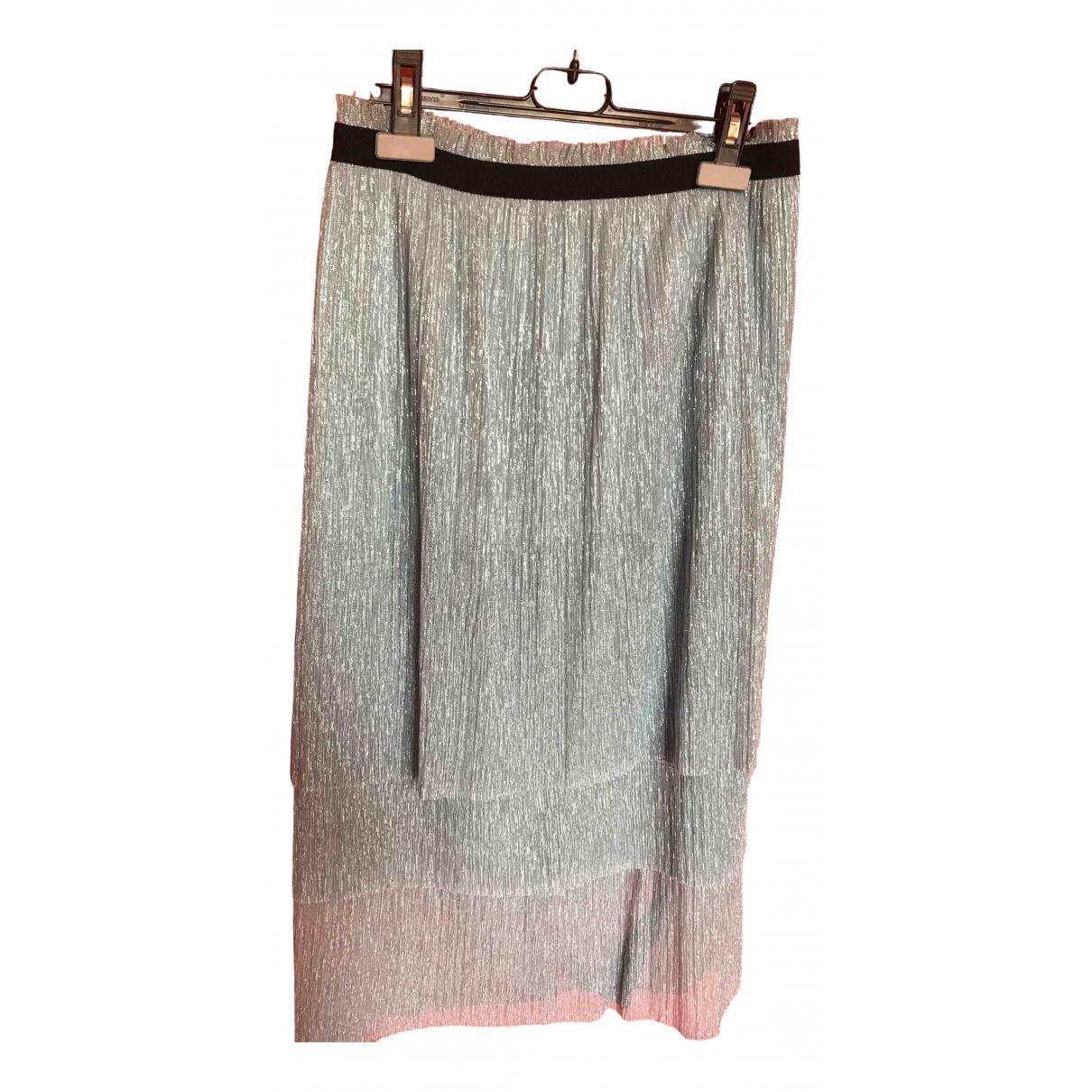 Maje N Metallic skirt for Women 40 IT