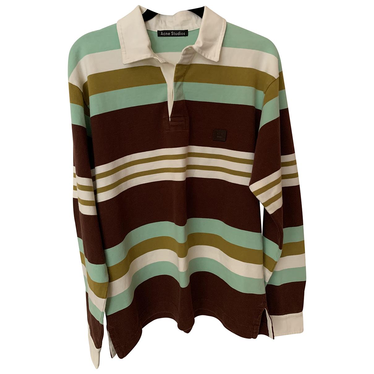 Acne Studios \N Multicolour Cotton Polo shirts for Men XS International
