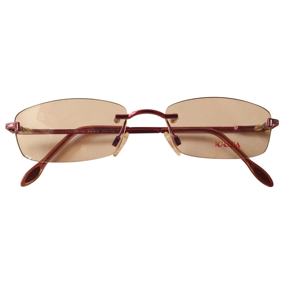 Krizia \N Sonnenbrillen in  Lila Holz