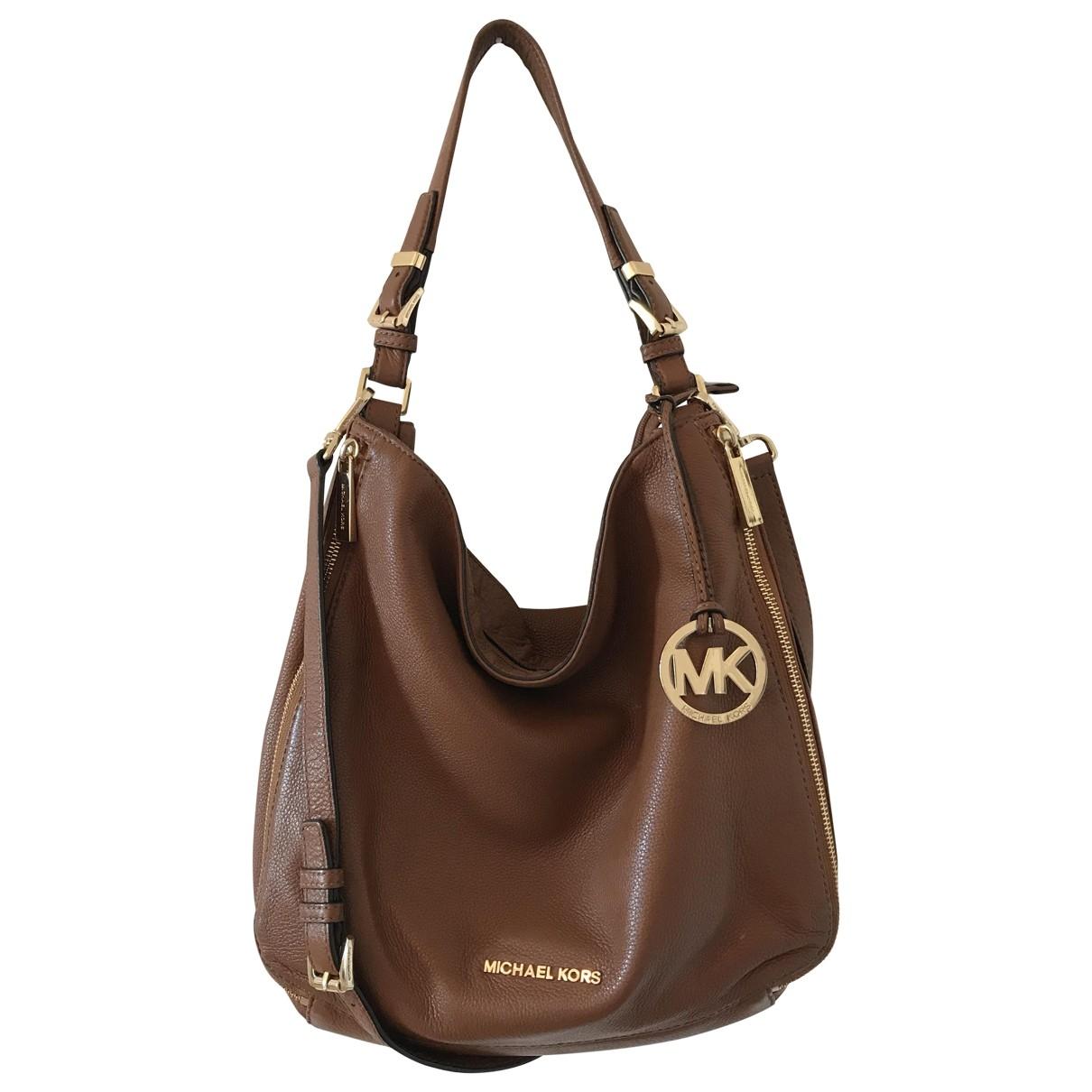 Michael Kors Lillie Brown Leather handbag for Women \N