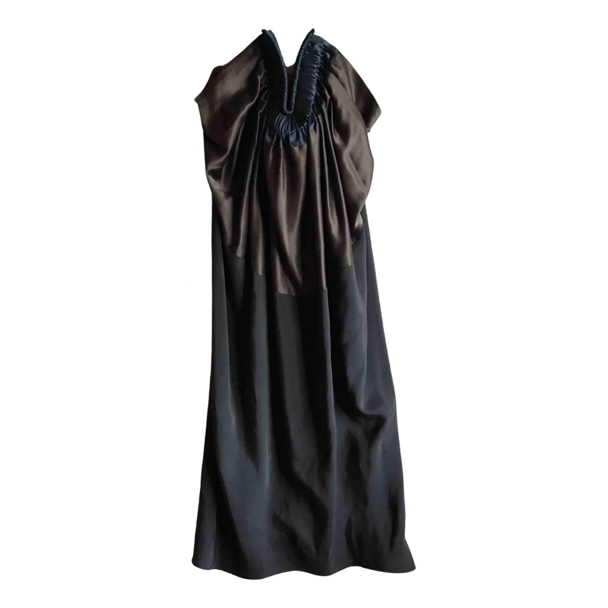 Vestido midi de Seda Lanvin
