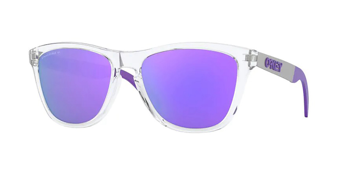 Oakley OO9428 FROGSKINS MIX Polarized 942817 Men's Sunglasses Clear Size 55