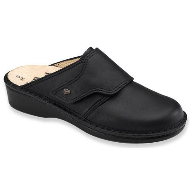 Finn Comfort Aussee Black Leather Soft Footbed 40