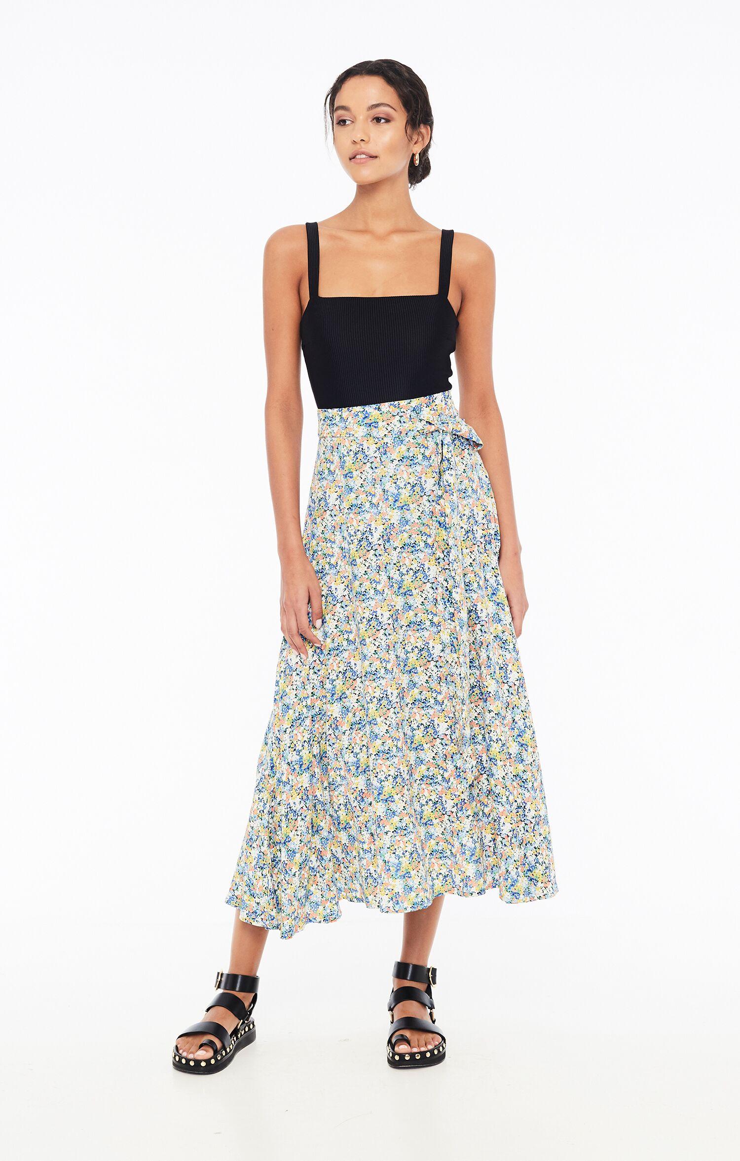 Asiya Skirt - Vionett Floral Print