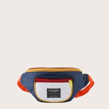 Guys Colorblock Fanny Pack