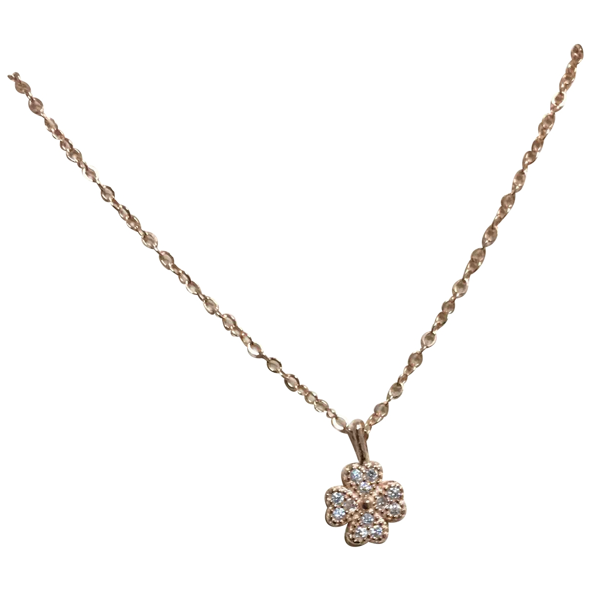 Non Signé / Unsigned \N Silver pendant for Women \N