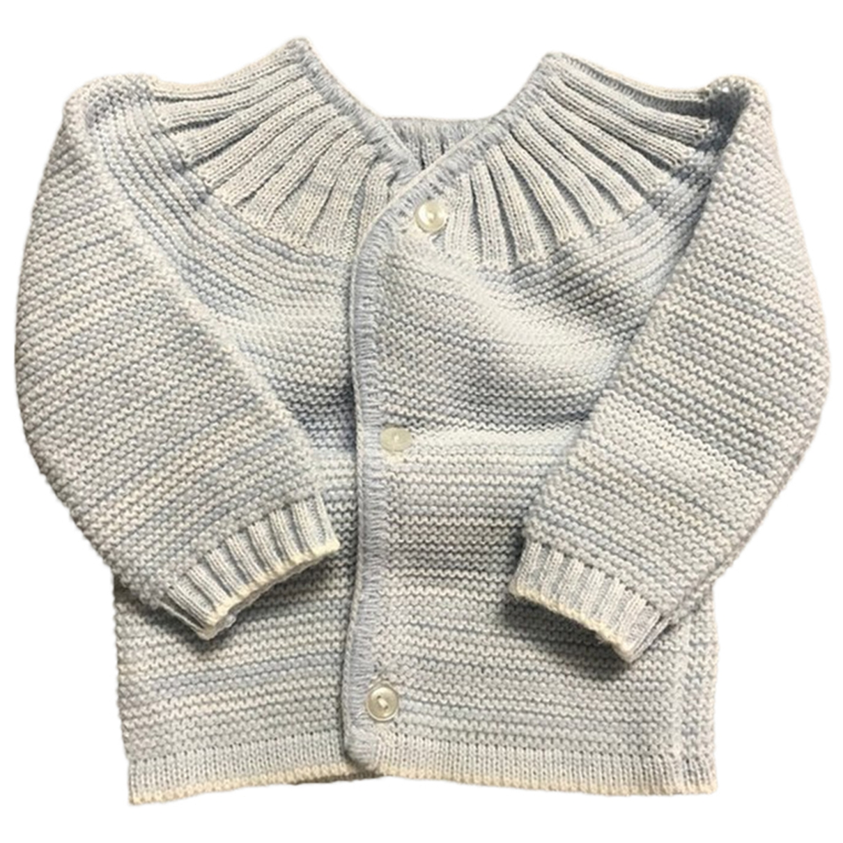 Non Signé / Unsigned \N Blue Wool Knitwear for Kids 1 months - up to 55cm FR