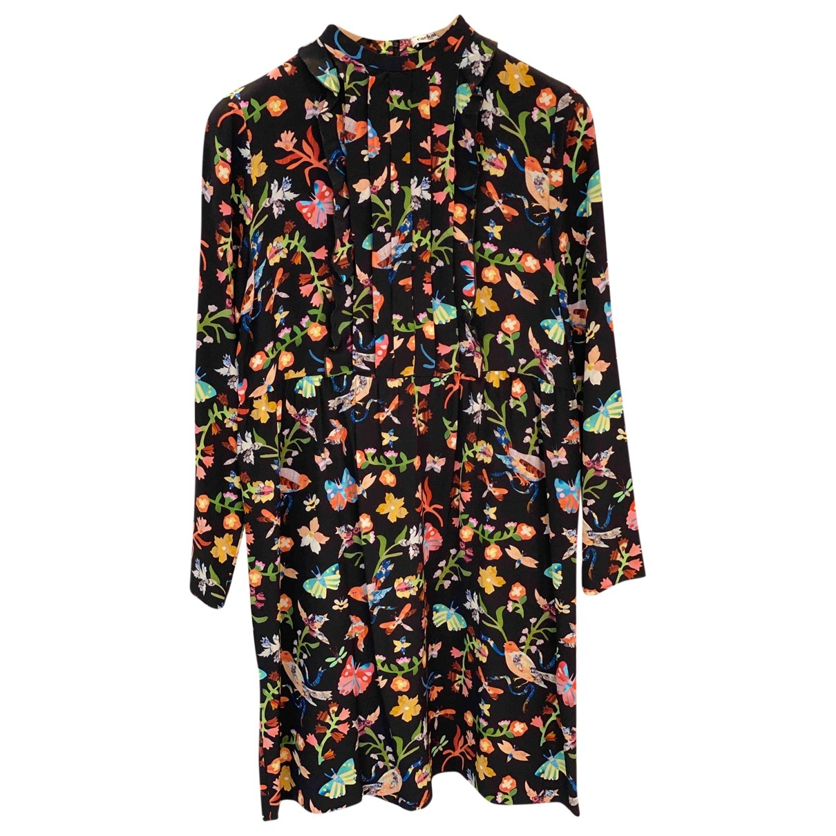 Mini vestido de Seda Cacharel