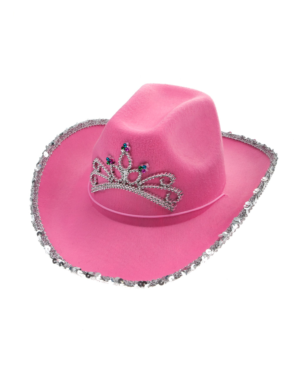 Kostuemzubehor Cowboyhut rosa Kinder