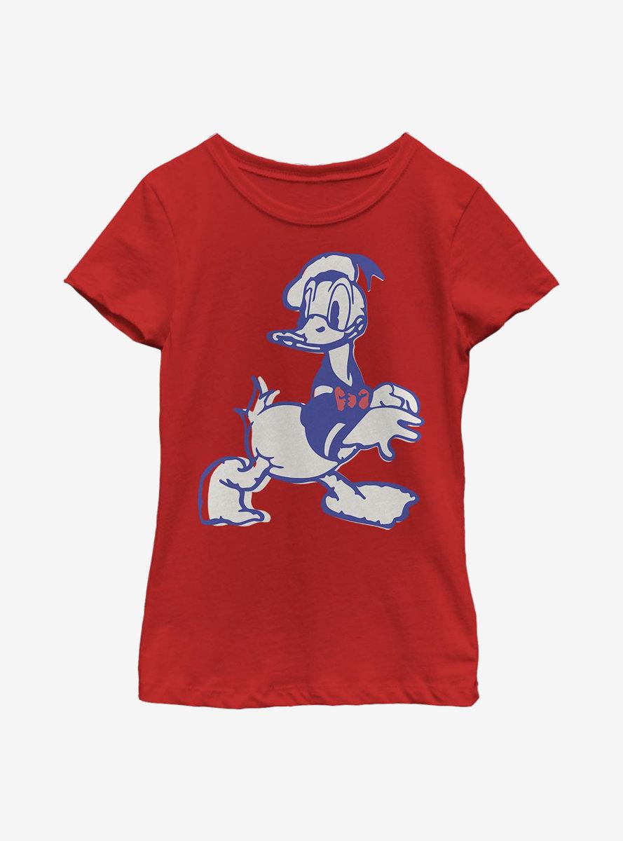 Disney Donald Duck Heritage Youth Girls T-Shirt