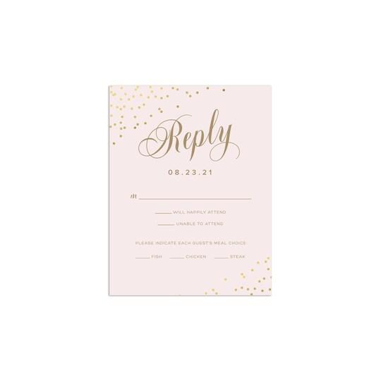 Gartner Studios® Personalized Always & Forever Flat Wedding Foil RSVP   Michaels®