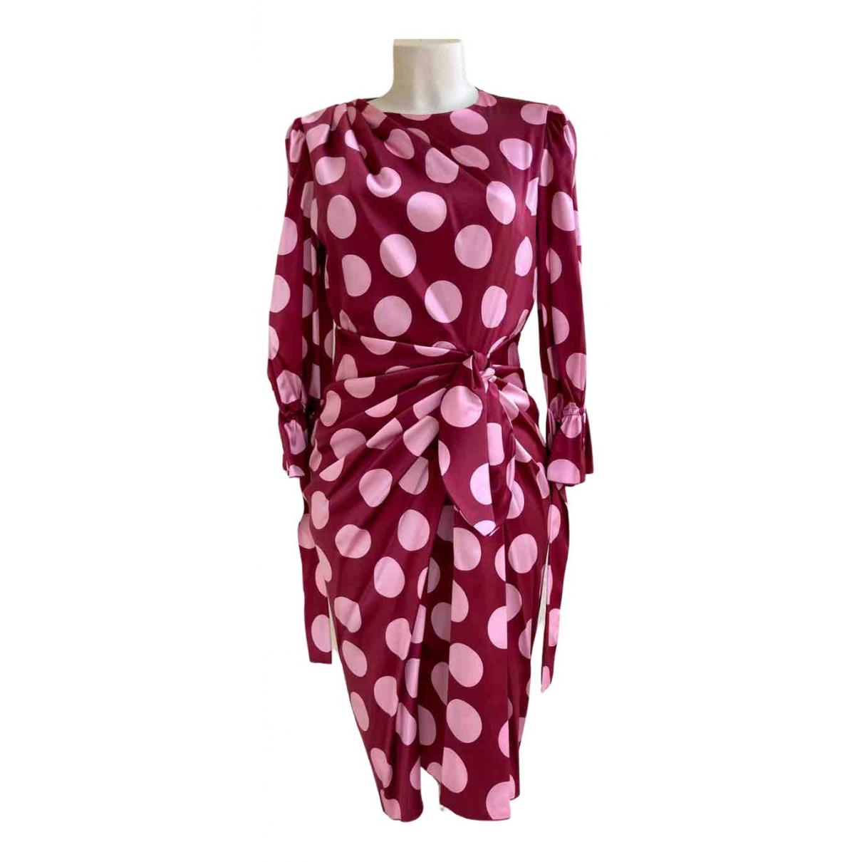 Dolce & Gabbana \N Kleid in  Rot Seide