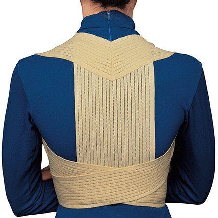 OTC Professional Orthopaedic Elastic Posture Support, Beige - 1.0 Each