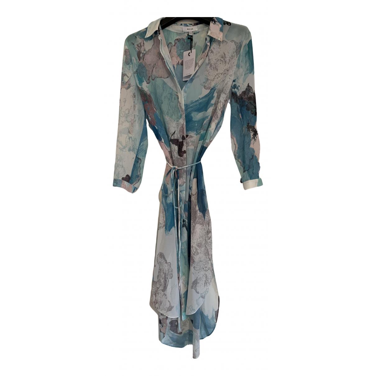 Reiss \N Kleid in  Bunt Polyester