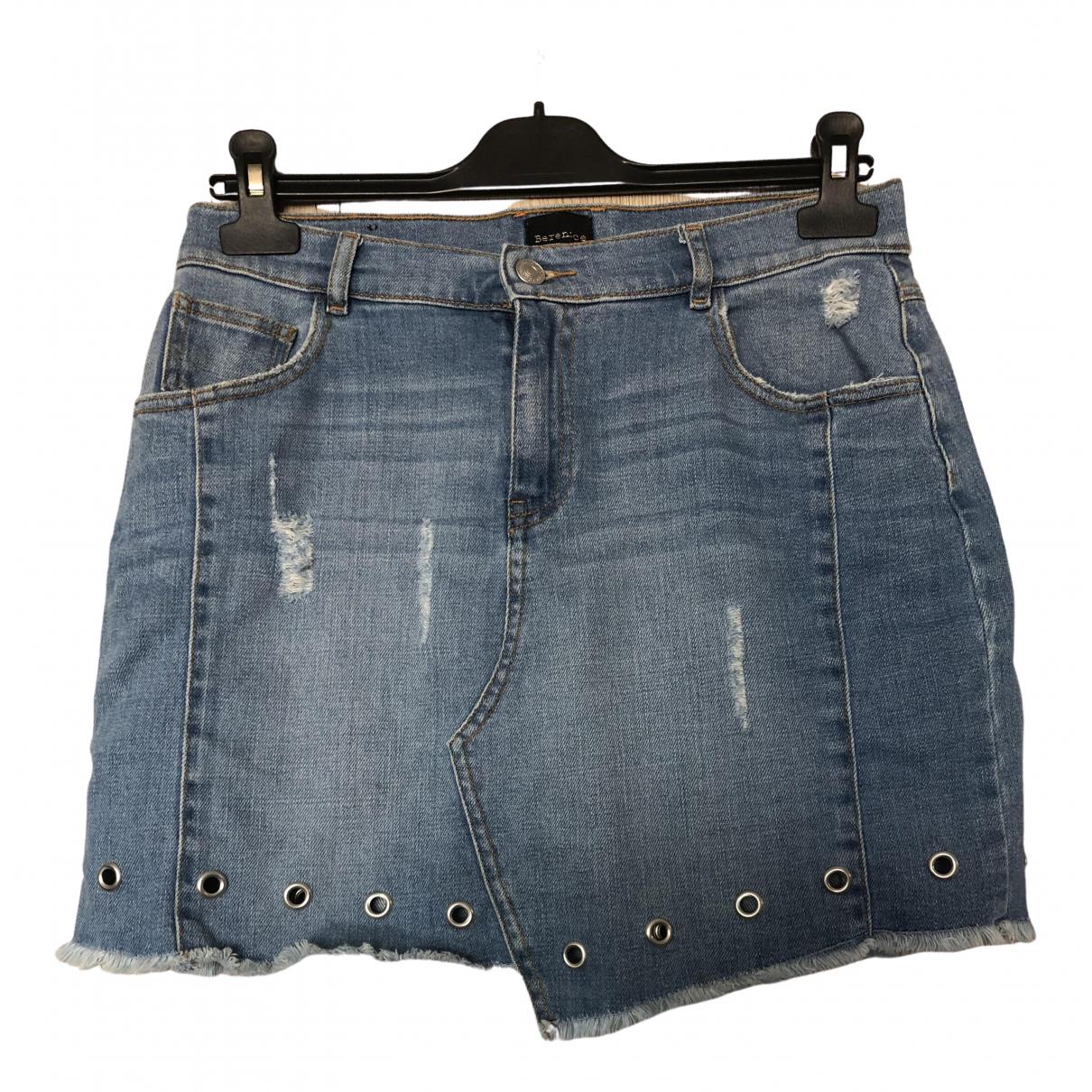 Berenice \N Rocke in  Blau Denim - Jeans