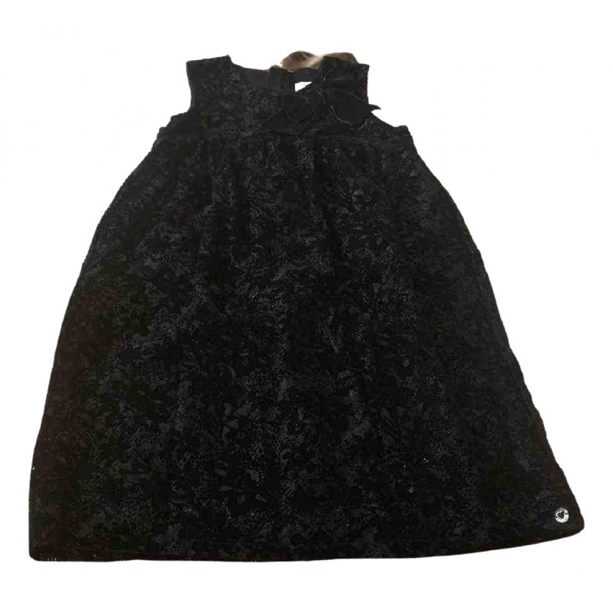 Twin Set \N Kleid in  Schwarz Samt