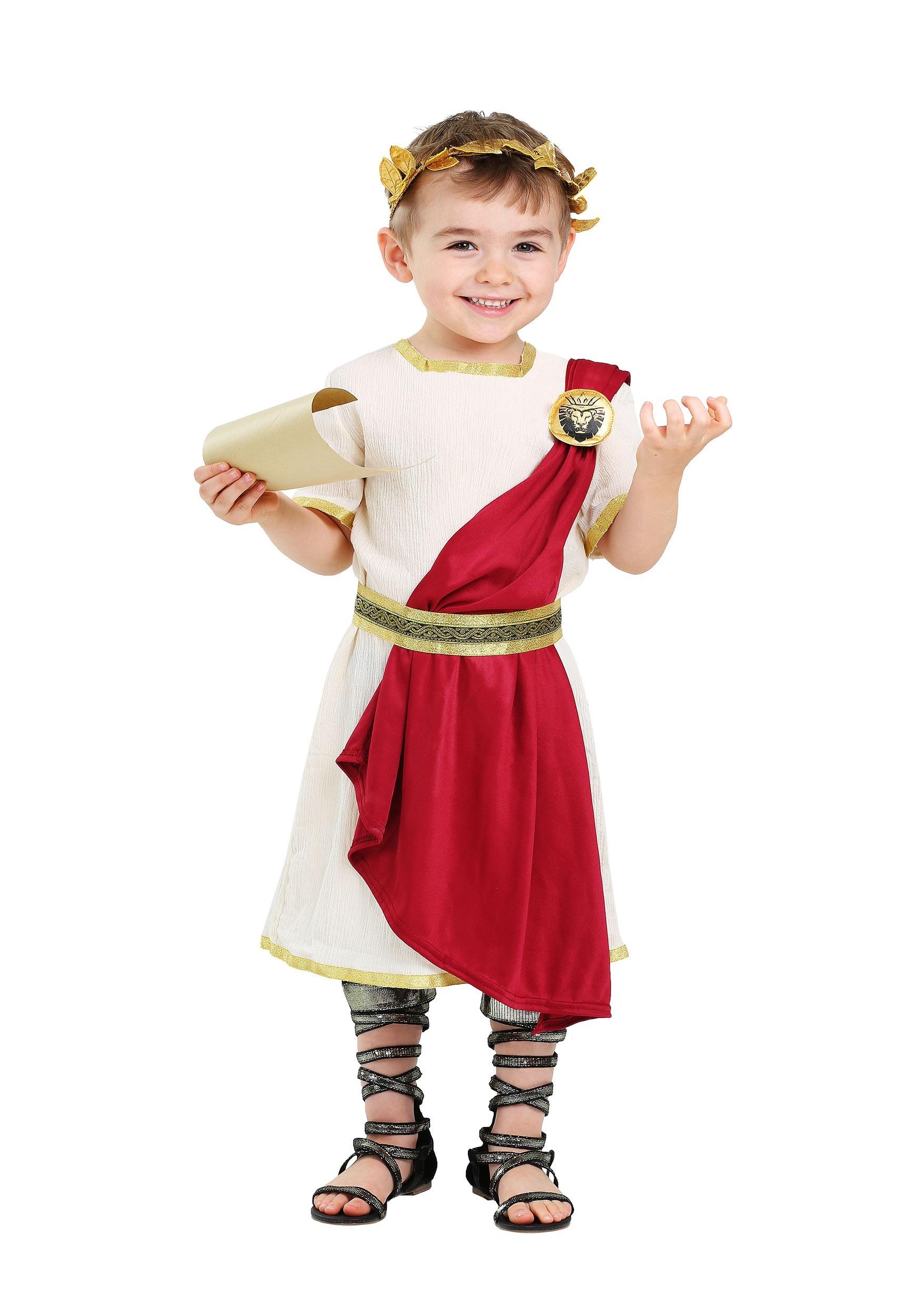 Boys Toddler Roman Senator Costume