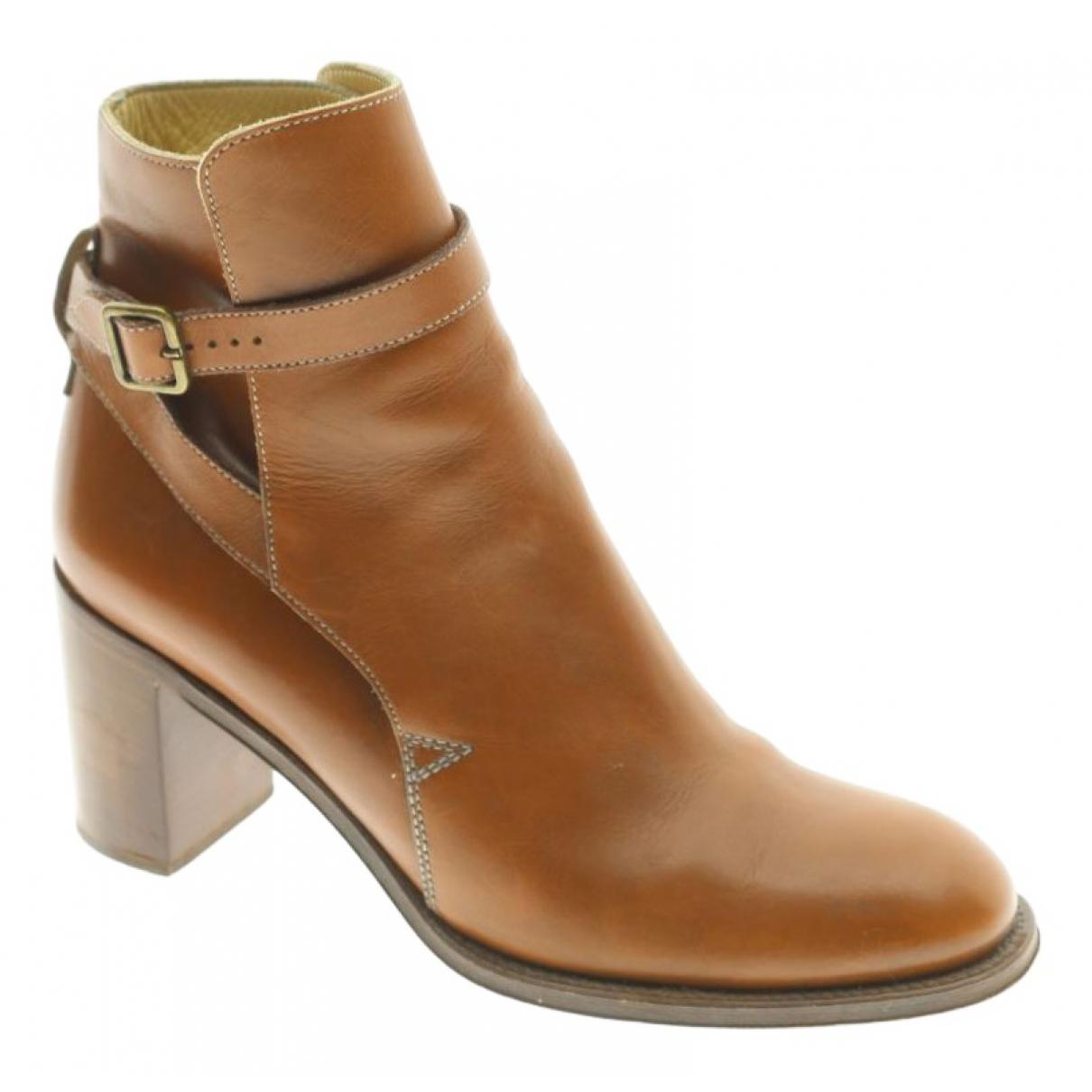 Chloe - Boots Lexie pour femme en fourrure - marron