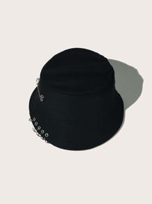 Men Ring Decor Bucket Hat