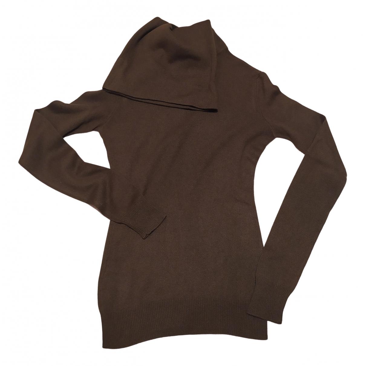 Ralph Lauren Collection - Pull   pour femme en cachemire - marron