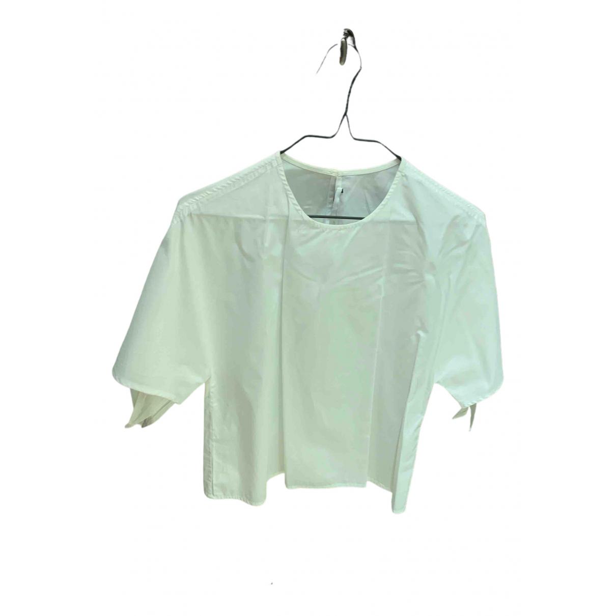 Rosetta Getty - Top   pour femme en coton - blanc