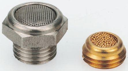 Legris 0682 Stainless Steel 12bar Pneumatic Silencer, Threaded, G 3/4 Male