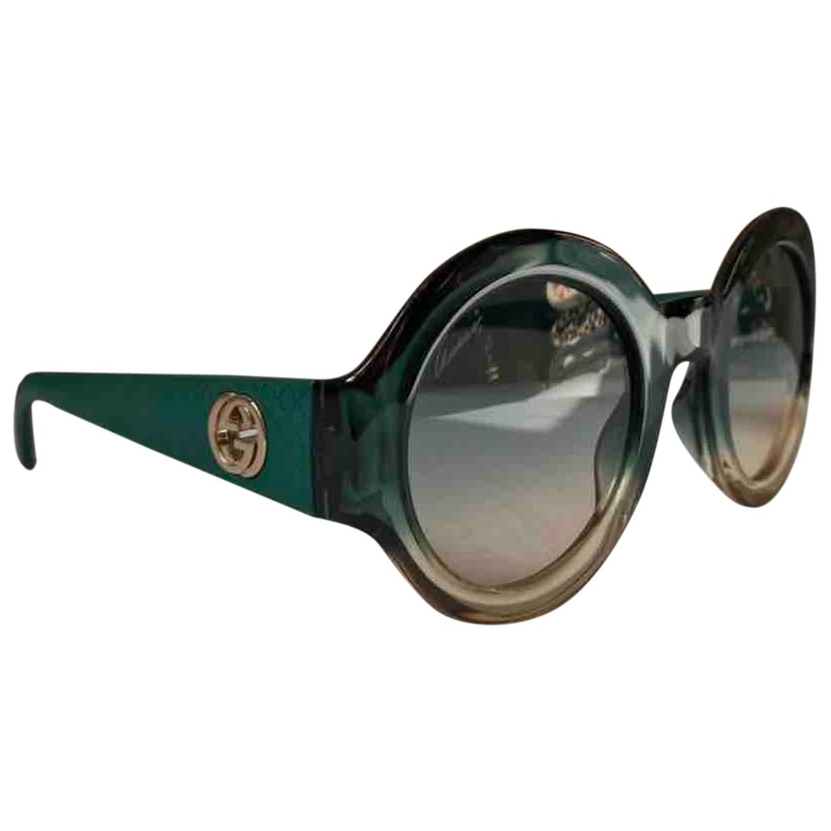 Gucci - Lunettes   pour femme - vert