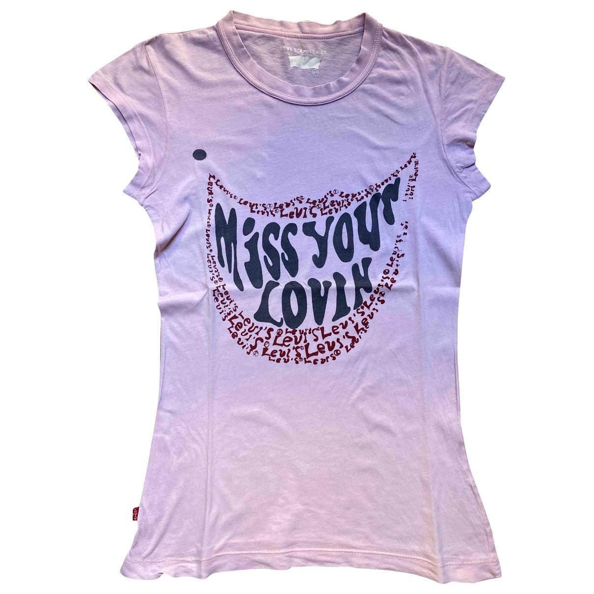 Levis - Top   pour femme en coton - rose