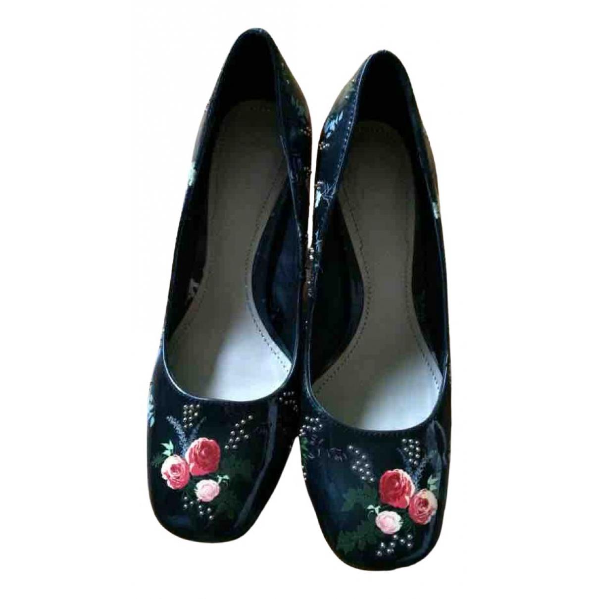 Zara \N Black Patent leather Heels for Women 37 EU