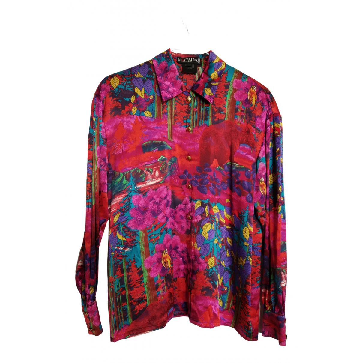 Escada \N Pink Silk  top for Women 38 FR