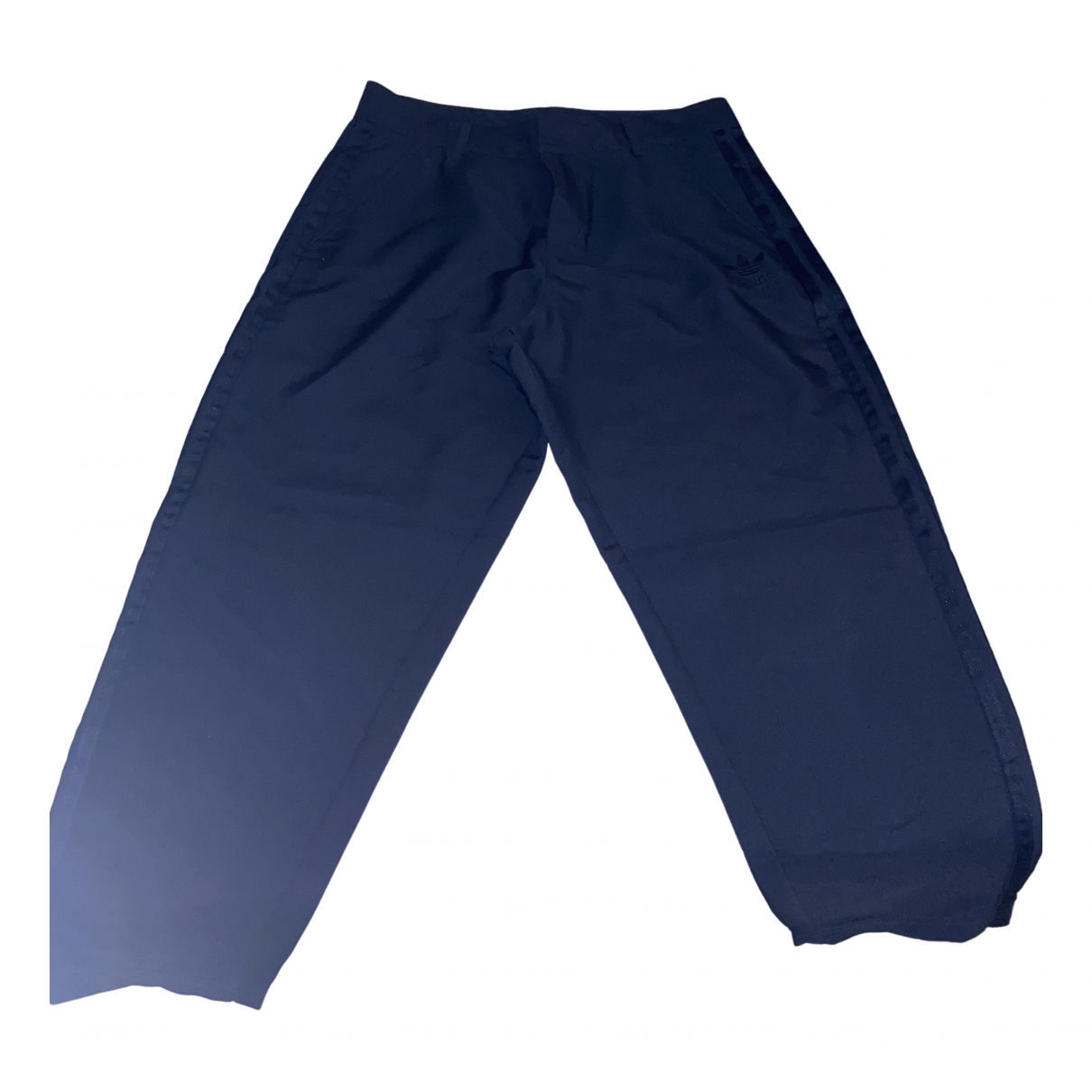 Adidas \N Blue Trousers for Women 40 IT