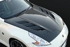 Amuse AMS20341510001 Dry Carbon Bonnet Nissan 370Z 09-14