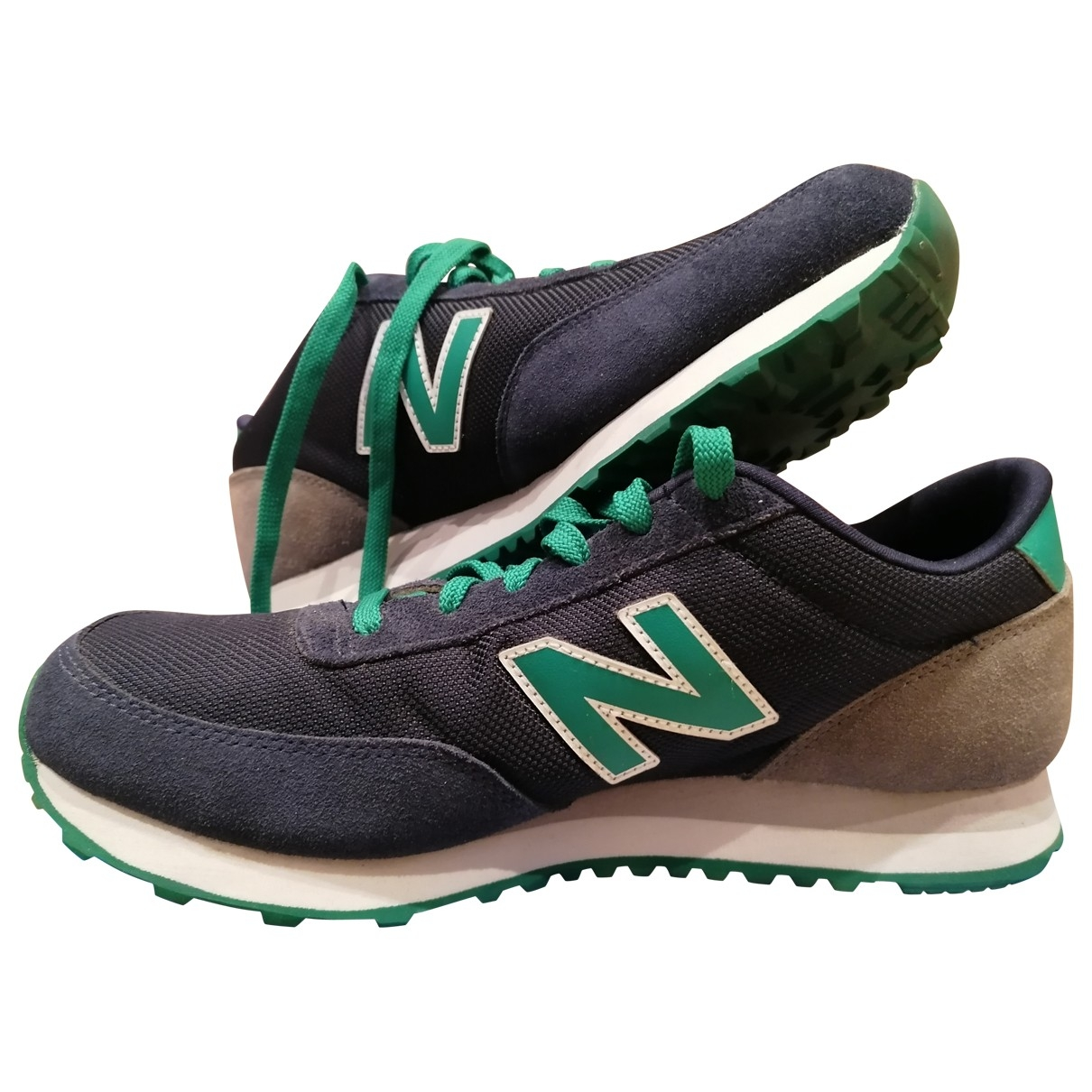 New Balance \N Sneakers in  Blau Leinen