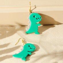 Cartoon Dinosaur Drop Earrings