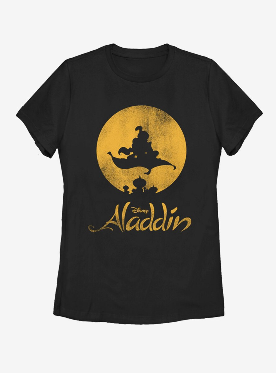 Disney Aladdin NEW WORLD Womens T-Shirt