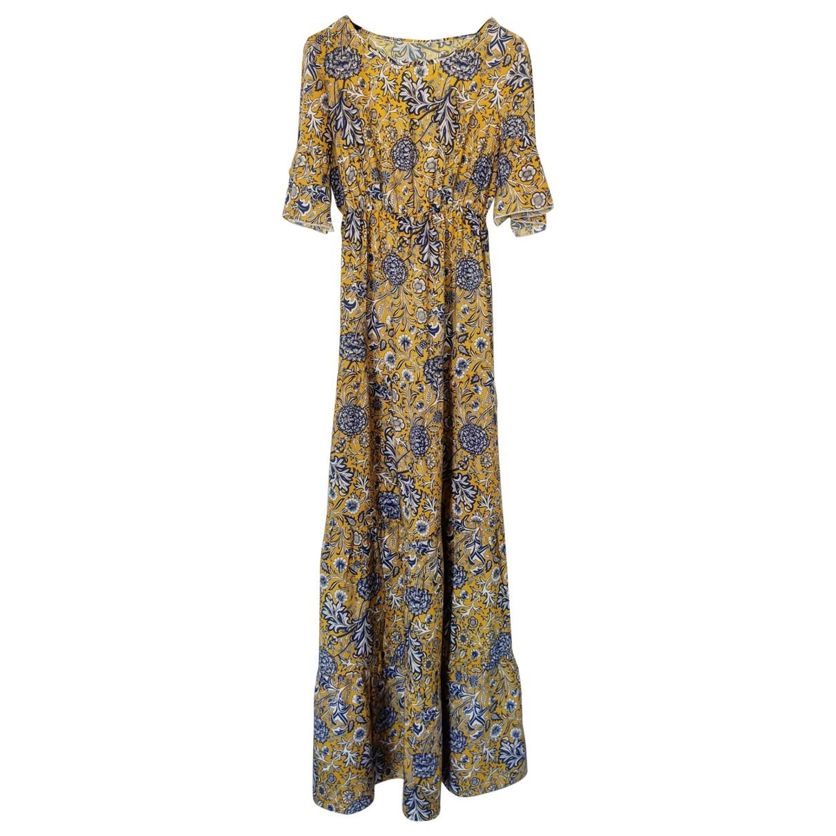 - Robe   pour femme - jaune