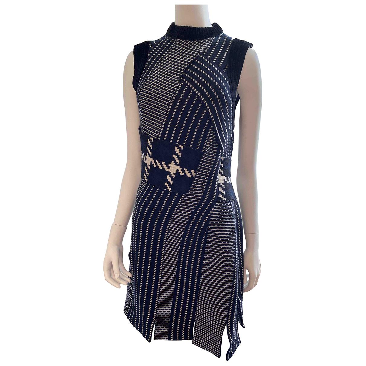 3.1 Phillip Lim \N Kleid in  Blau Wolle