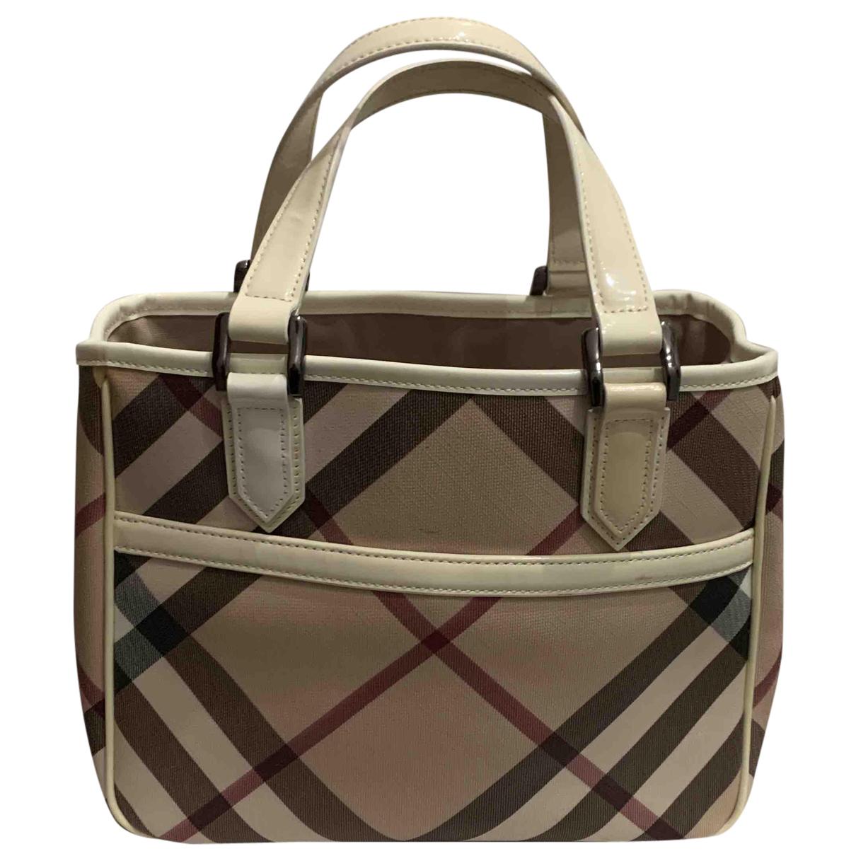 Burberry N Camel handbag for Women N