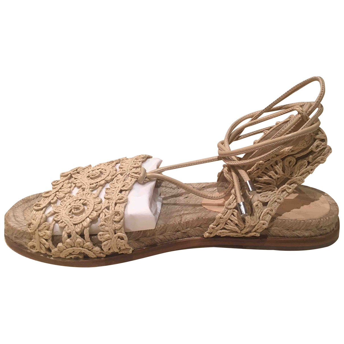 Sandalias de Lona Max Mara Weekend