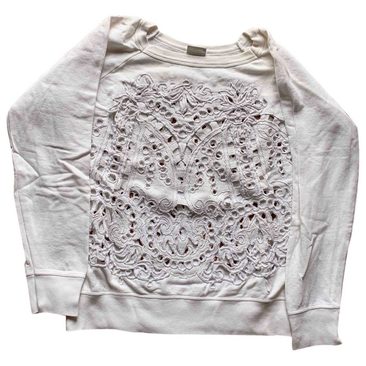 Dries Van Noten \N White Cotton Knitwear for Women L International