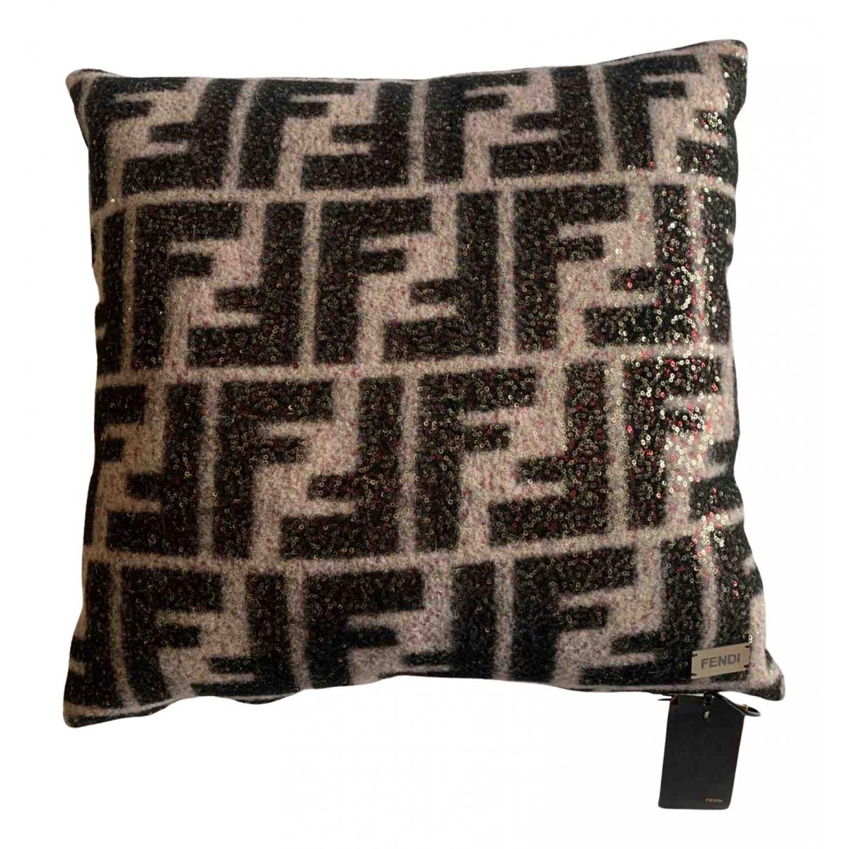 Fendi - Linge de maison FF pour lifestyle en laine - multicolore
