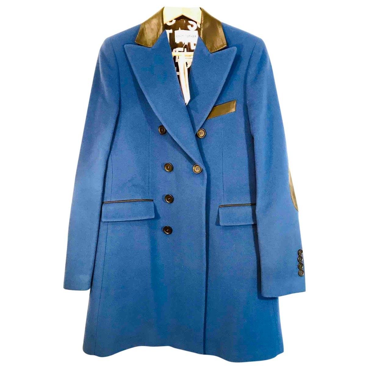 Each X Other \N Maentel in  Blau Wolle