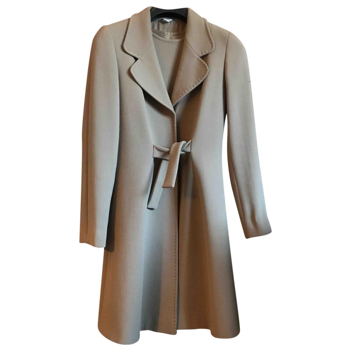 - Manteau Max Mara Atelier pour femme en laine - camel